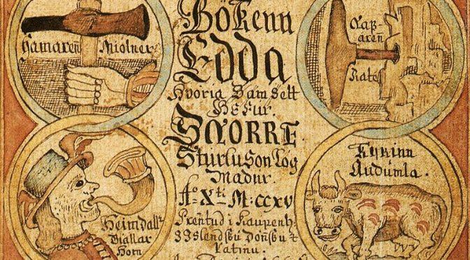Le plaisir de la mythologie nordique
